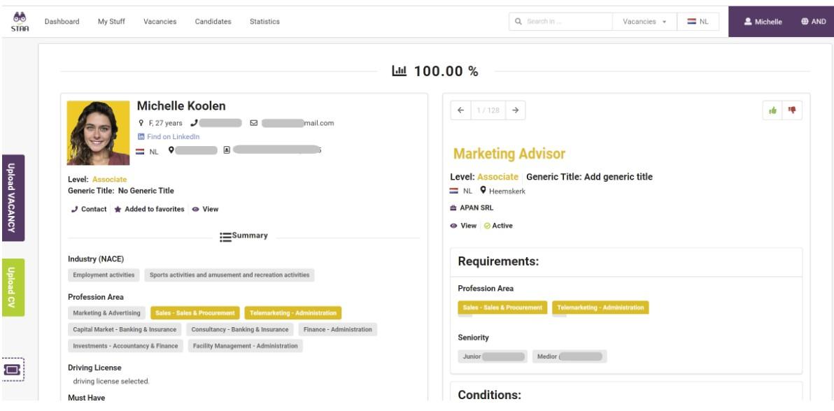 resume matching software