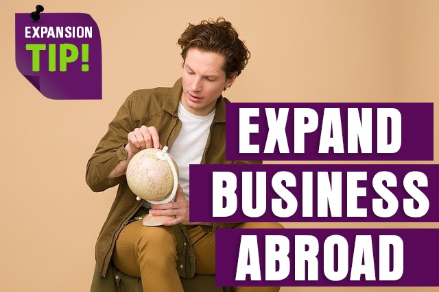 Expand recruitment business abroad
