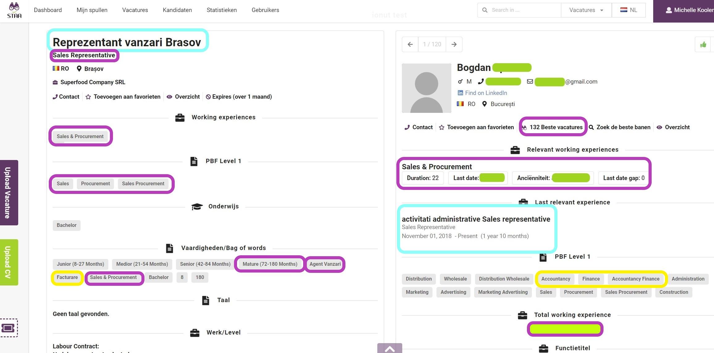 Automate resume matching
