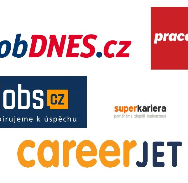 Logos job portals Czech Republic Republic
